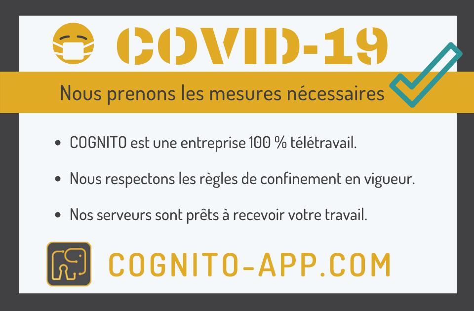 Cognito-app pret pour le covid-19